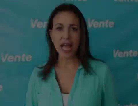 #12Jul @MariaCorinaYA envía mensaje  a Nicolás Maduro: 'SI vas pa' fuera' https://t.co/qxxz7QRxlF