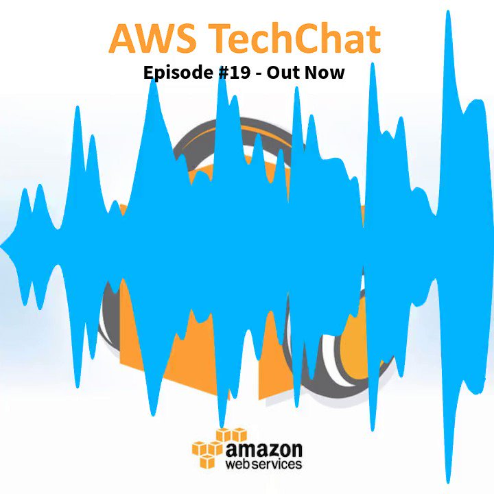 AWS TechChat #19 is out now! Tune in and check it out. https://soundcloud.com/user-684142981/episode-19-aws-news-that-matter-to-you-most…