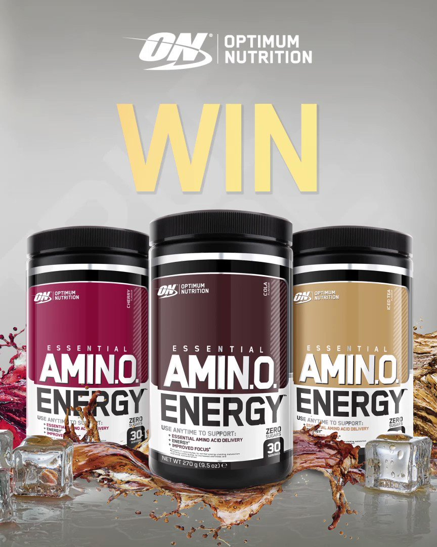 *WIN*  RT&Follow for your chance to #win our new flavoured #AminoEnergy!  #AnyTimeEnergy #AminoEnergy https://t.co/nzjjc0L8jU