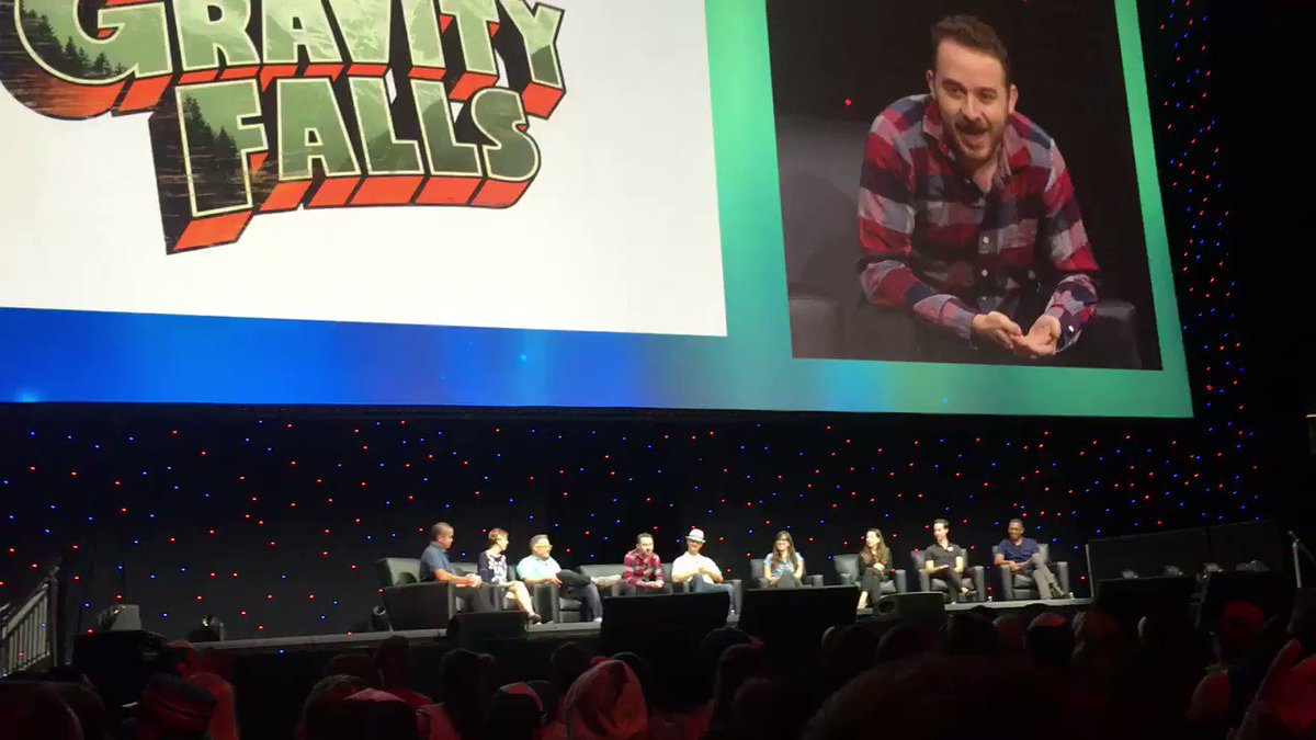 RT @cruellasfurcoat: #GravityFalls GRAPHIC NOVEL announced at #D23Expo! Start saving up nerds! 😍😍 https://t.co/AB2KCeiRRc