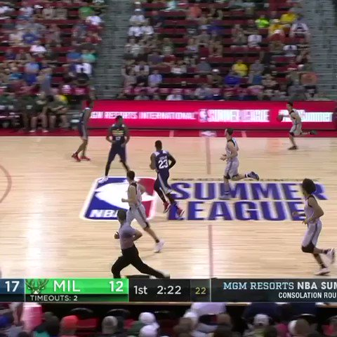 Travis Trice II brings out the moves on ESPNU. #NBASummer