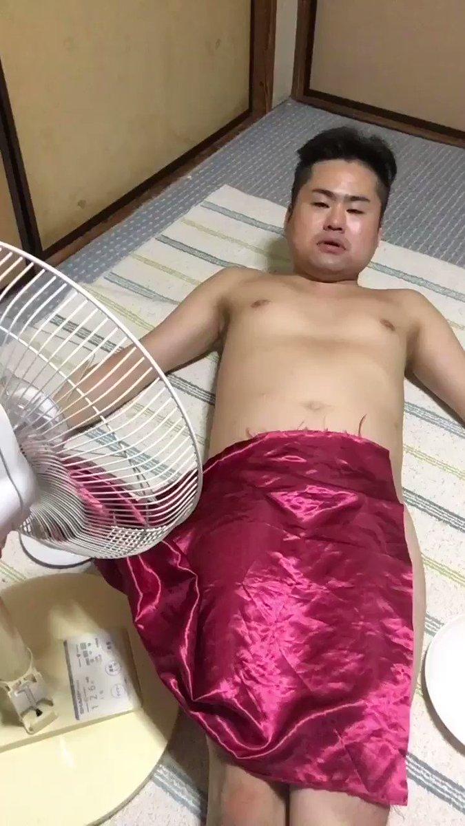 扇風機で危険なテーブルクロス引き