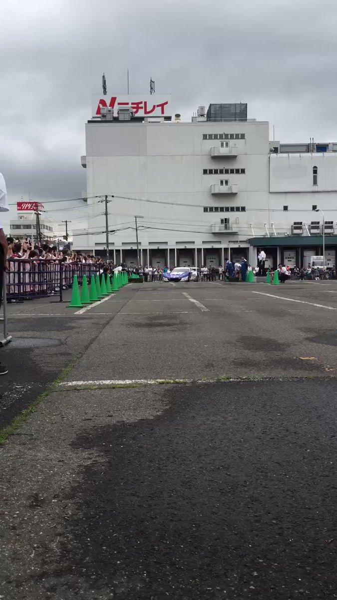 Enjoy Honda in札幌 ドーナツターン大成功!
