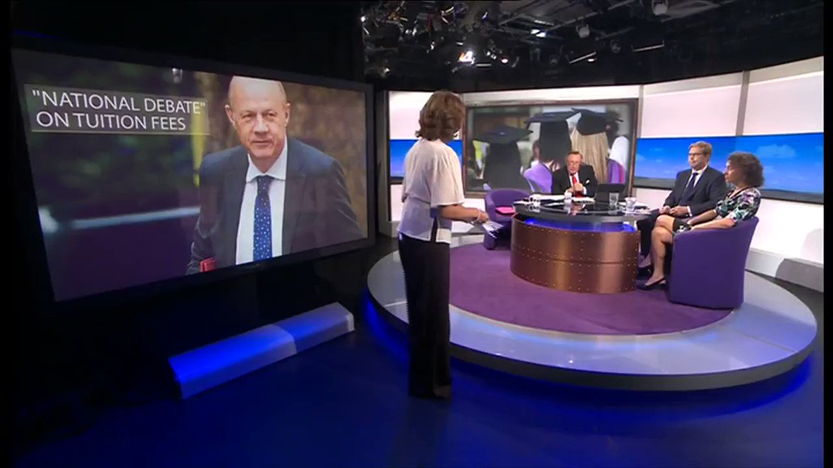 """.@SarahChampionMP admits it's not """"going to be possible"""" to keep Labour's promise on student debt @daily_politics https://t.co/lU3Rj8FtLh"""