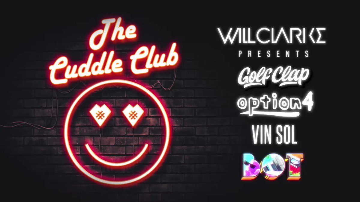 Who's ready for #TheCuddleClub with @VinSol @bot106 @golfclapdet @option4music get ya tickets at https://t.co/daON5lhyBj