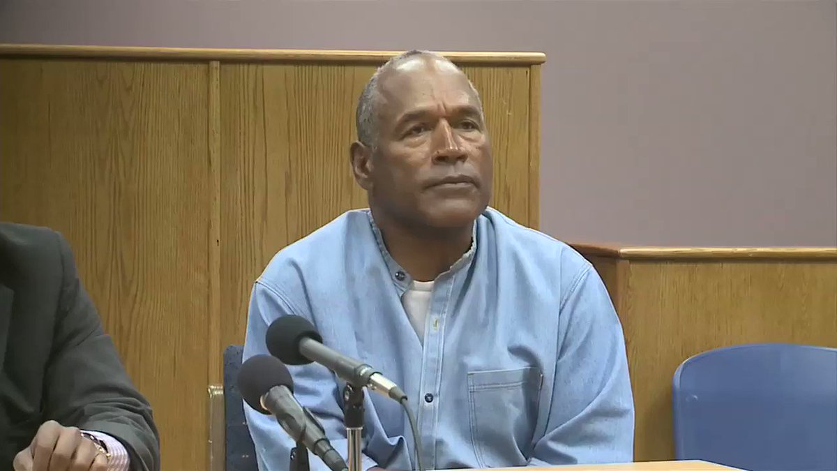 After almost 9 years in prison, O.J. Simpson is granted parole. https:...