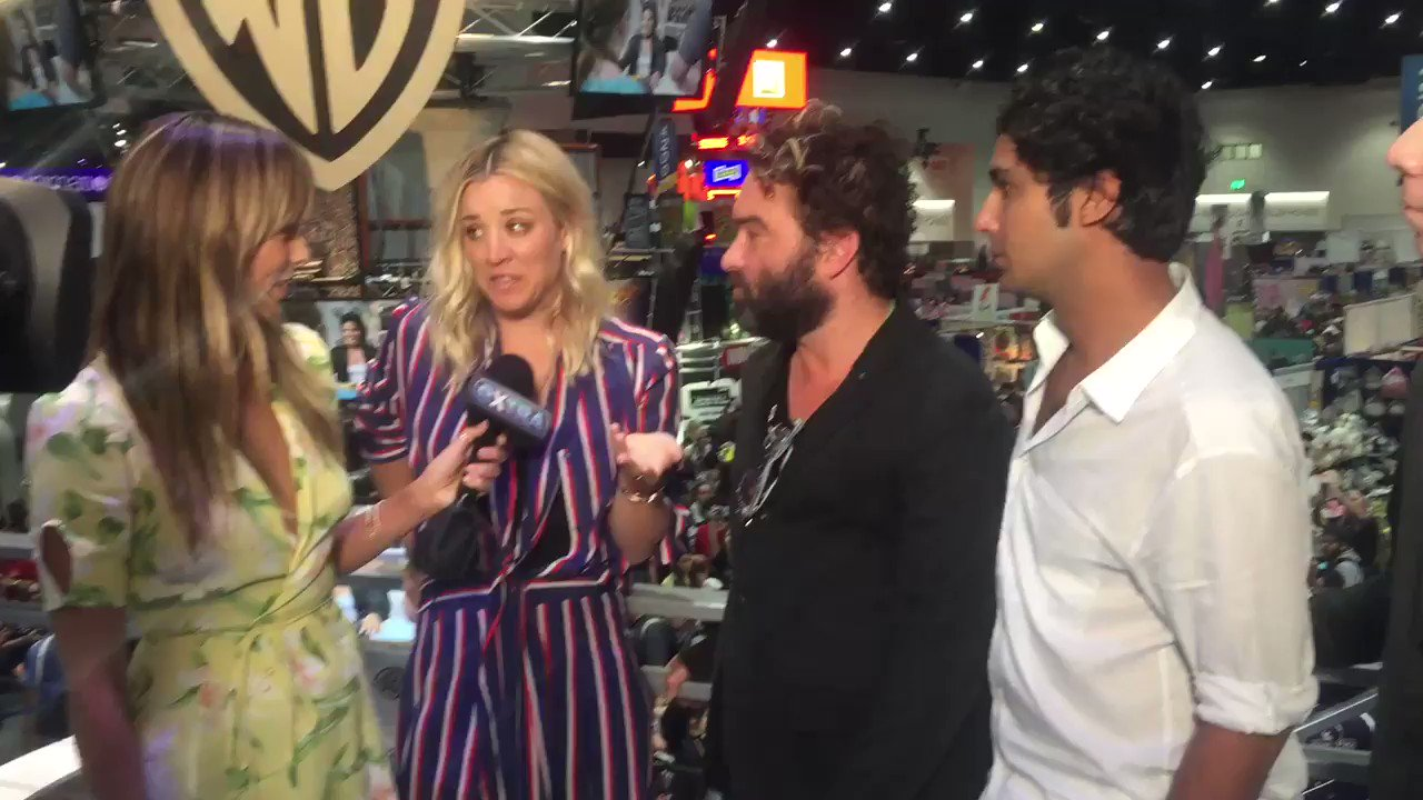 RT @extratv: What other @bigbangtheory character would they want to be? @kunalnayyar says Penny! 🤣 #ComicCon https://t.co/JeY5NZXEF3