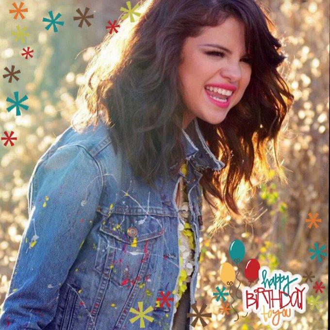 HAPPY BIRTHDAY SELENA GOMEZ     l Love You Selena Gomez