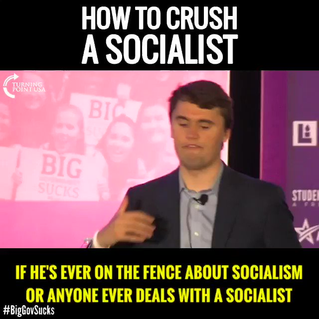 Must Watch! See How To Save Someone From Becoming A Socialist! #SocialismSucks