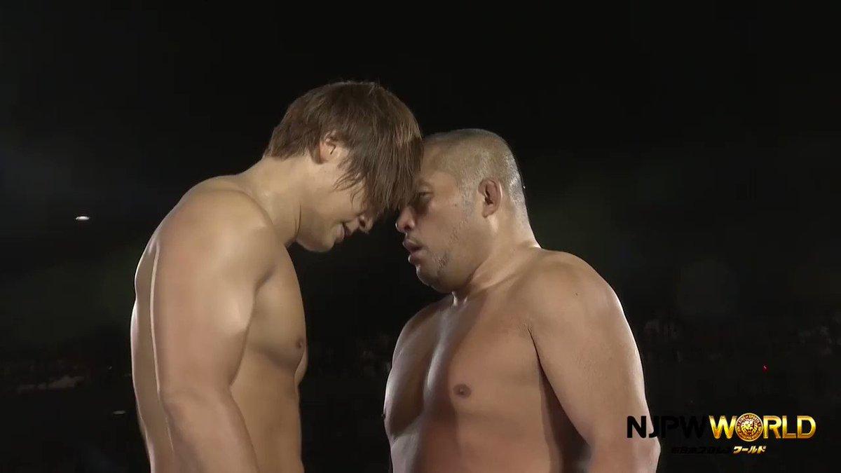 壮絶な打ち合いに期待感しかない!飯伏@ibushi_kota vs石井! #G1...