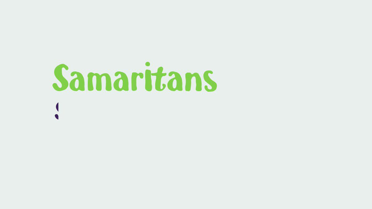 Great advice from the @samaritans...
