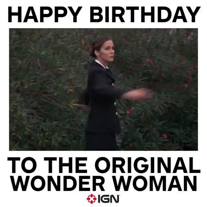 Ign On Twitter Happy Birthday To The Original Wonderwoman Lynda