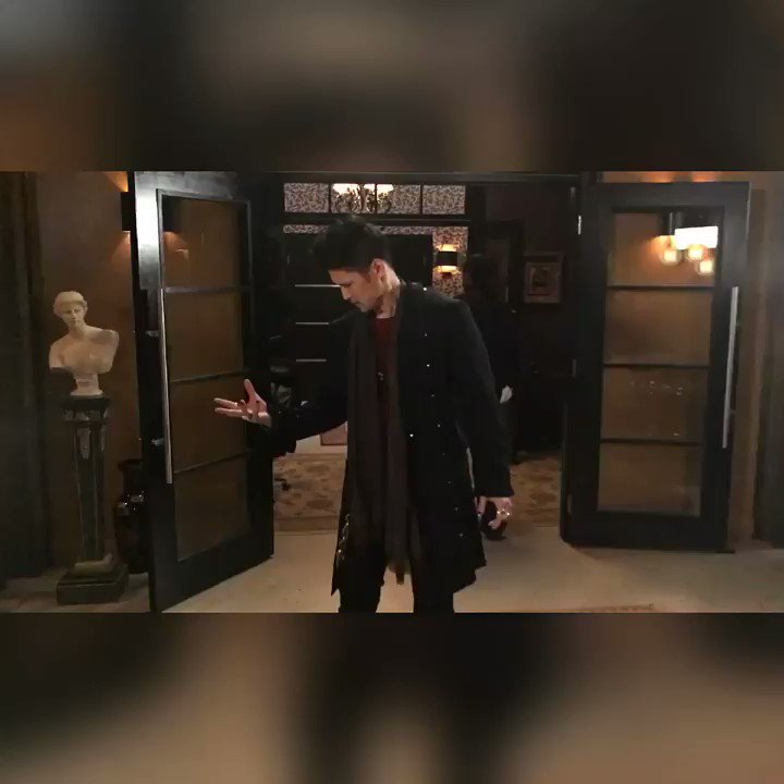 Here's how that last scene between Luke and Magnus really went 😂 #Shad...