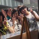 秋田公開ラジオ。照れるぐらいの距離。駆けつけてくれたみんなありがとー!!!^ ^ pic.twitt…