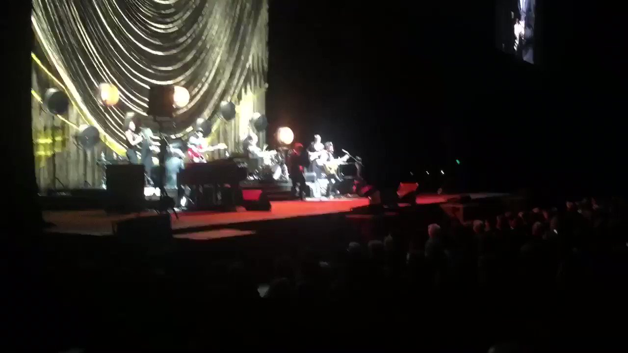 One of mine and Debs first concerts together was @kdlang . 1995. Here we are again tonight. That voice!!! https://t.co/jbgNzou19f