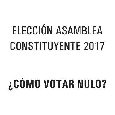 En caso que lo obliguen a votar por la ANC y negarse no sea una opción https://t.co/QIpYntouMm