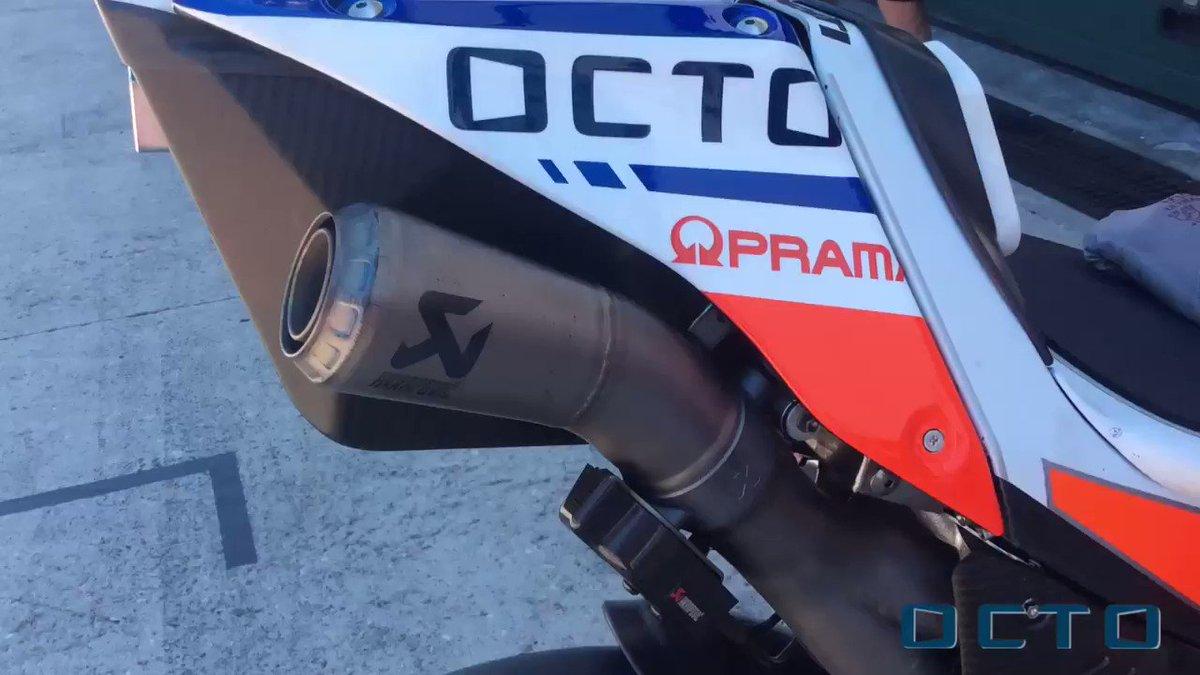 #OctoInsideGP - @MotoGP summer break is almost over. It's time to warm up. Follow the shock-wave of Octo @pramacracing!