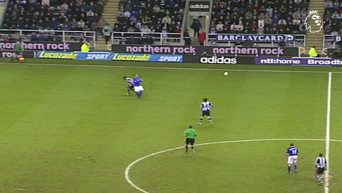 Happy 49th Birthday to Alan Shearer ( Here is one of the finest strikes the PL has ever seen: