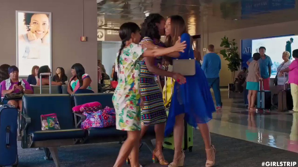 YOU DID THIS!!!! YA'LL ARE AMAZING!!! THANK YOU!!!! If you haven't seen #GirlsTrip yet, what are you waiting for?!?! https://t.co/6O9zsm88v9