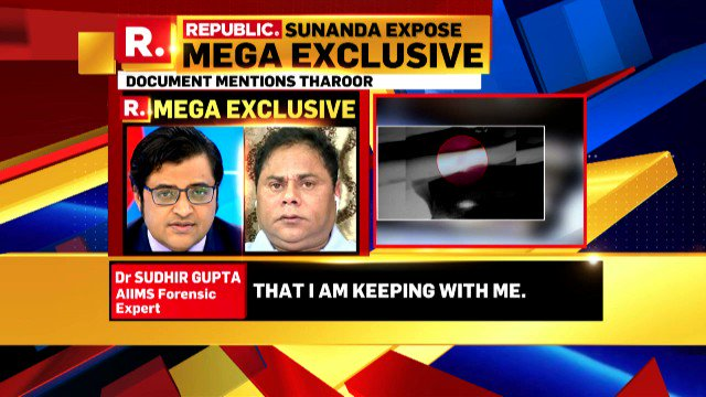 Republic On Twitter Tharoor Tried Manipulating Report Listen To Aiims Forensic Expert Dr Sudhir Gupta S Sensational Claims Aiimsdoctharoor Https T Co 20movlpexh