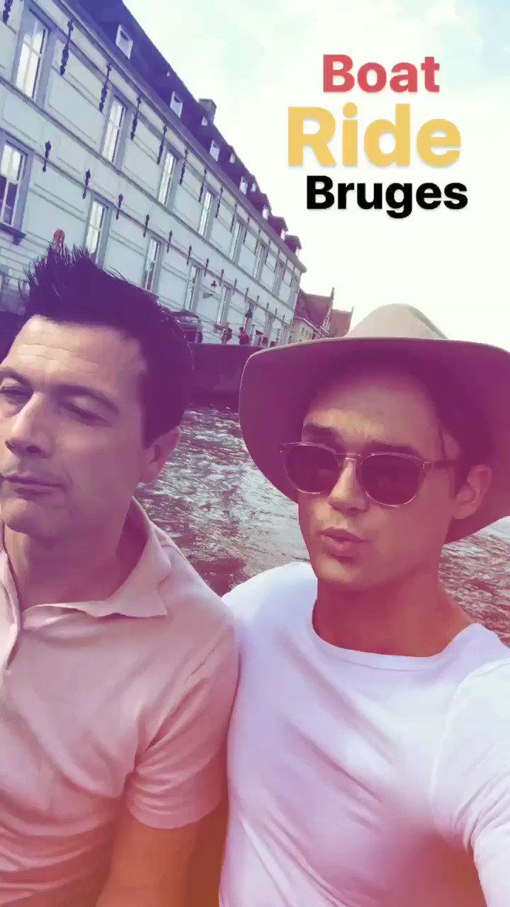 Boat ride in Bruges with my bestest @Matt_Daines1 https://t.co/pT3dTTCTUZ