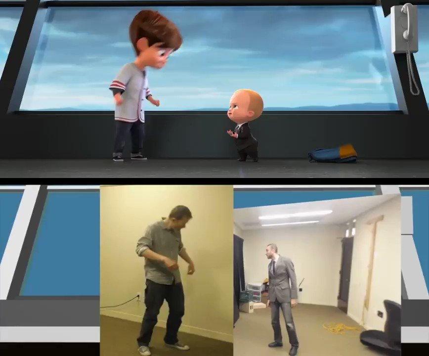 ディズニーもドリームワークスも。実はCGアニメーターって演技派俳優なんです。というのがとても良く分かる映像。 その他の動画はこちら:https://t.co/NSqzNEIgSL https://t.co/vmWzVayOn8