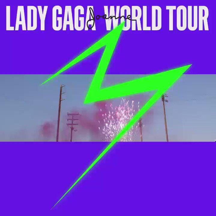 #JOANNEworldtour TOMORROW! https://t.co/JQch1cbqw9