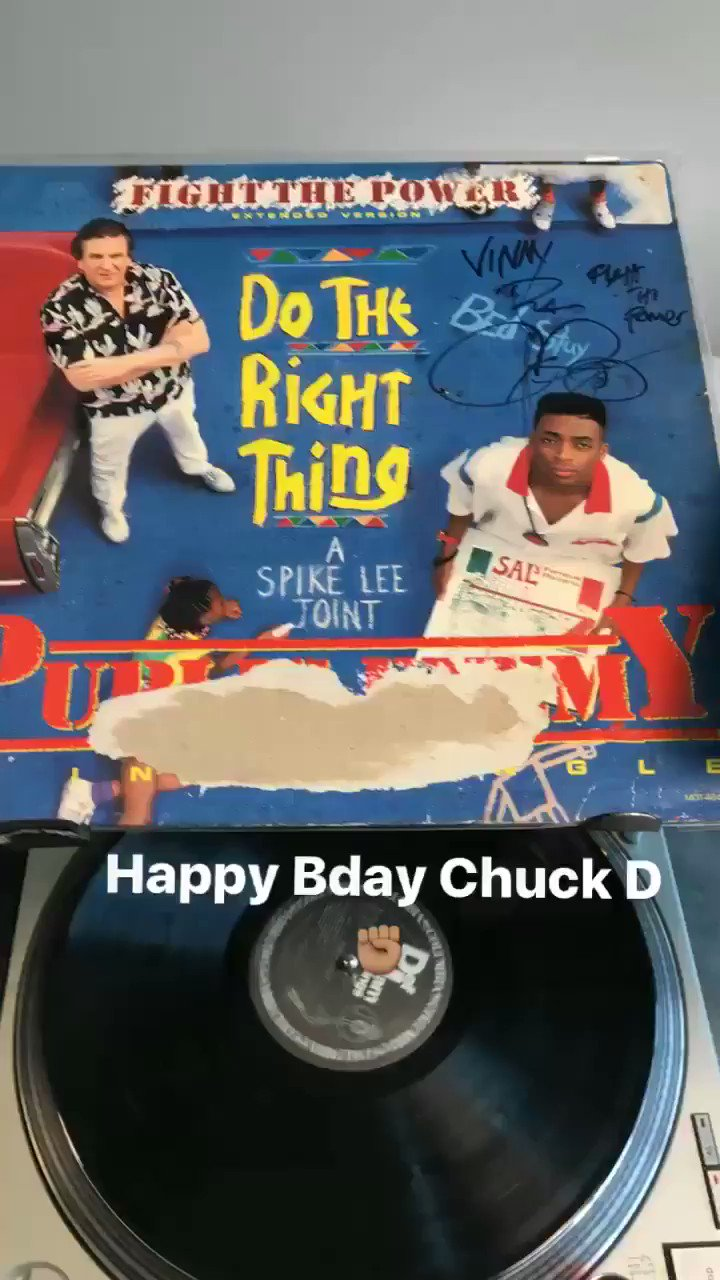 Happy Bday Chuck D.