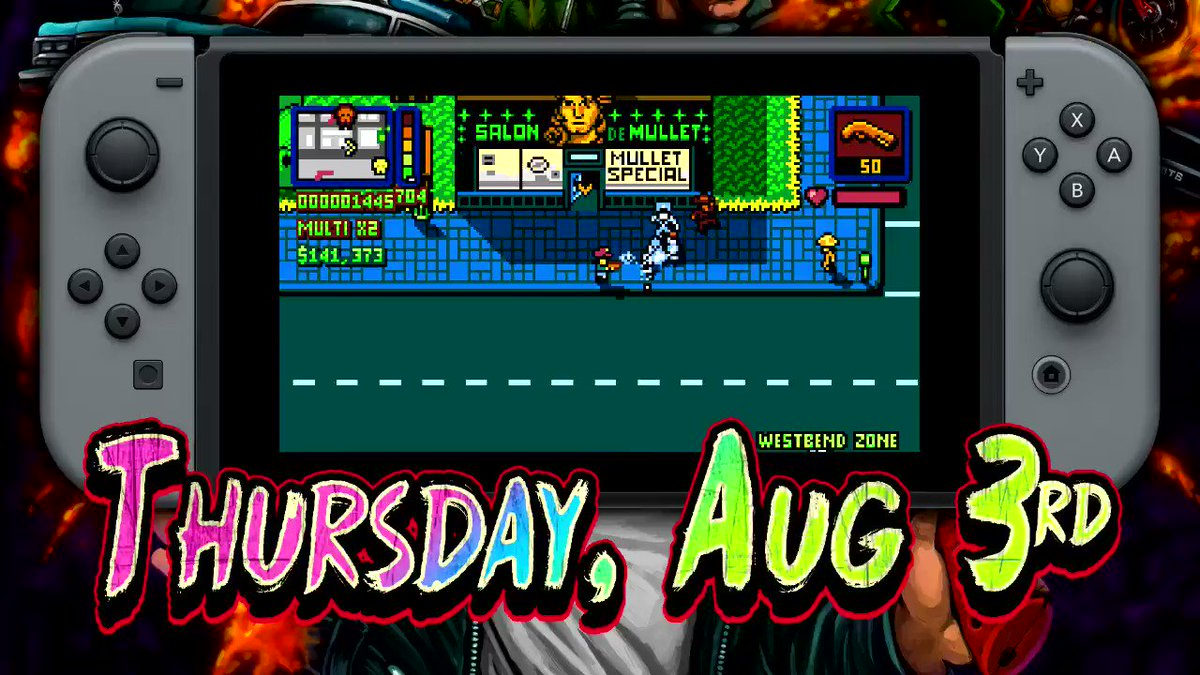 Follow & RT for a chance to win Retro City Rampage DX for Nintendo Switch ONE DAY EARLY! https://t.co/W23zpdhlgX