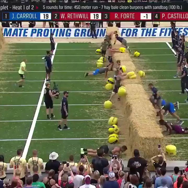The hay bales are 50 inches and Dakota Rager is 64 inches.  Do what you gotta do. #CrossFitGames https://t.co/NHY9TbfqWB