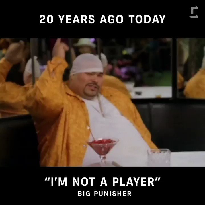 #BigPun's 'I'm Not a Player' dropped on...