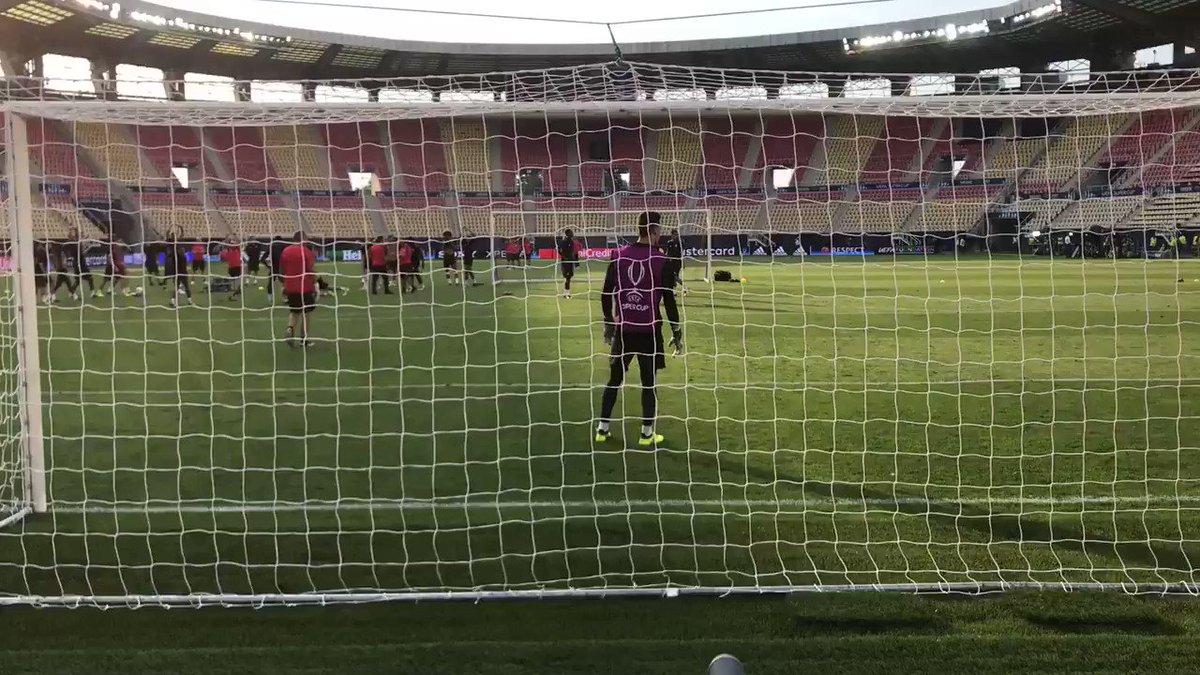 Lukaku in training #MUFC