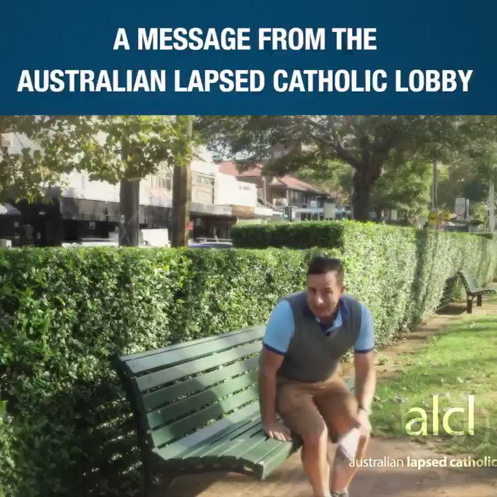 A message from the Australian Lapsed Catholic Lobby about the upcoming survey thingy: https://t.co/02M4zT4VEG