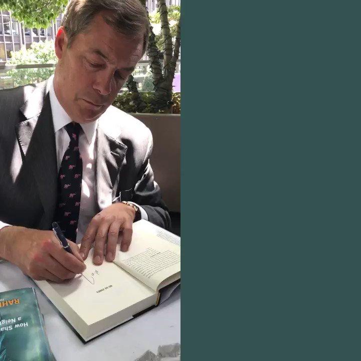 Go and pre-order @RaheemKassam's new book. @Nigel_Farage thinks you definitely should. https://t.co/c6Nodx3nfL