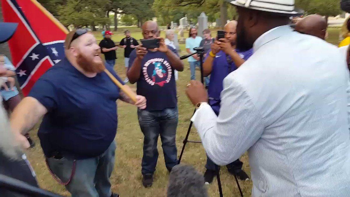 Protesters Clash Over Confederate Monuments in Dallas