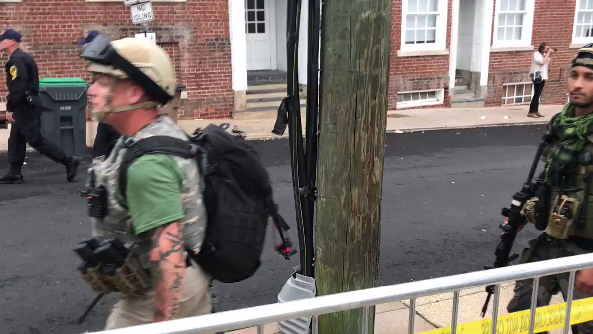 Tensions as white nationalists gather in Charlottesville