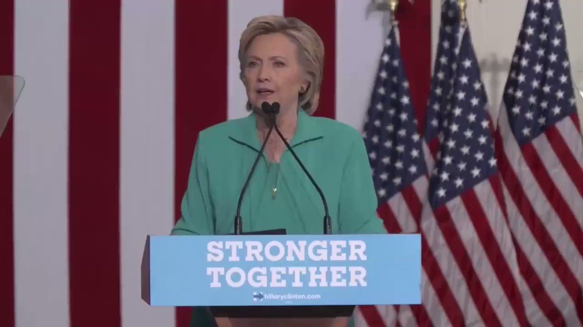 A YEAR ago, @HillaryClinton gave an entire speech warning us about the...
