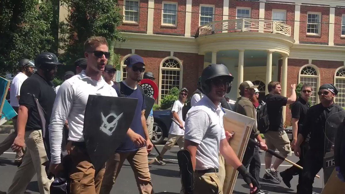 Man beaten by white supremacists in Charlottesville faces felony charge