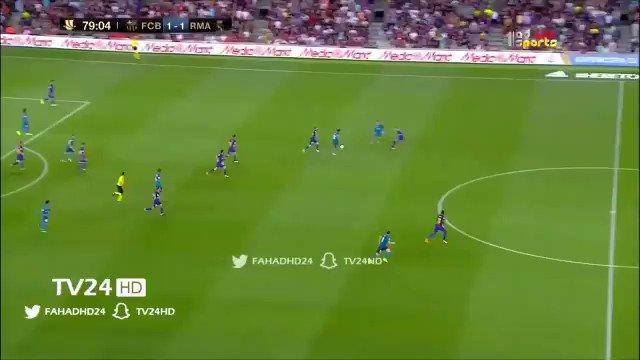 #SupercopaEspana | El golazo de @Cristiano #Ronaldo que ponía el 2-1 para el #RealMadrid sobre #Barcelona https://t.co/hA7RzZ51Ff