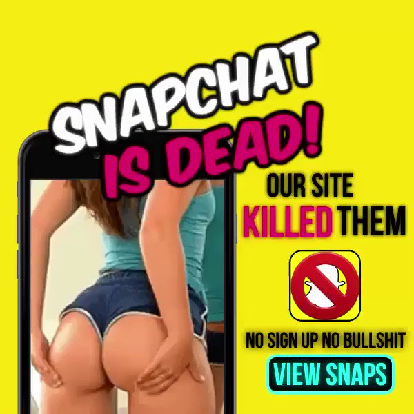 Snapchat is dead because of our hook ups! Come see for yourself!😈👻 https://t.co/pY0K3woUyS💦