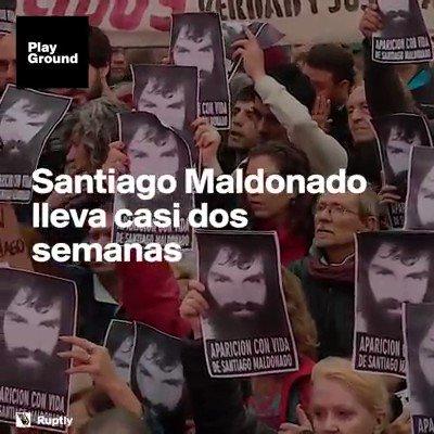13 días sin Santiago Maldonado https://t.co/wJKbD1OO5C