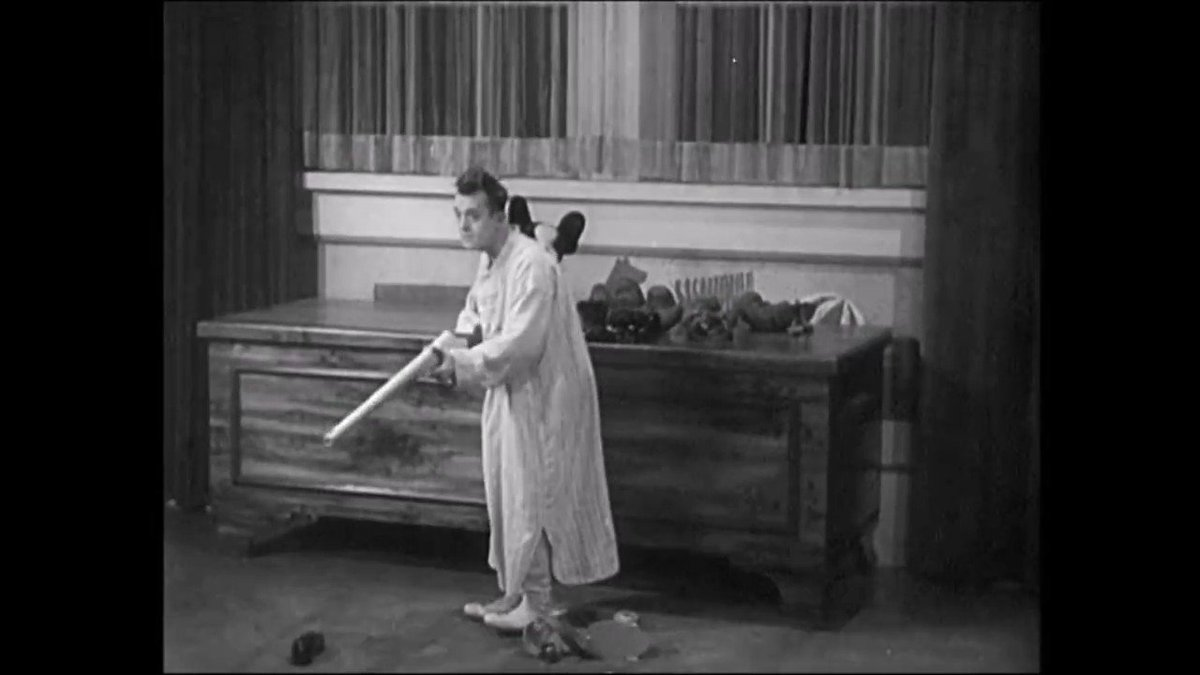 #LaurelAndHardy in another clip from BRATS