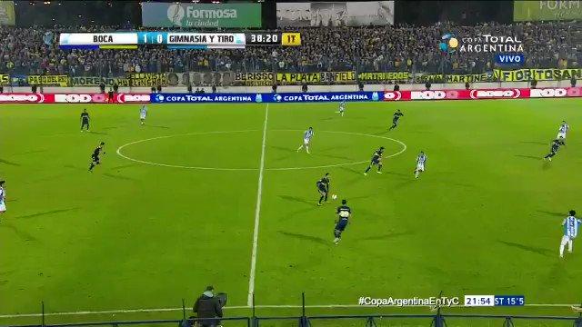 #CopaArgentina | Cardona puso el 2-0 de #Boca sobre #GimnasiayTiro por los 32avos de final. https://t.co/6deAhPG5xH https://t.co/f3nCU8fb1z