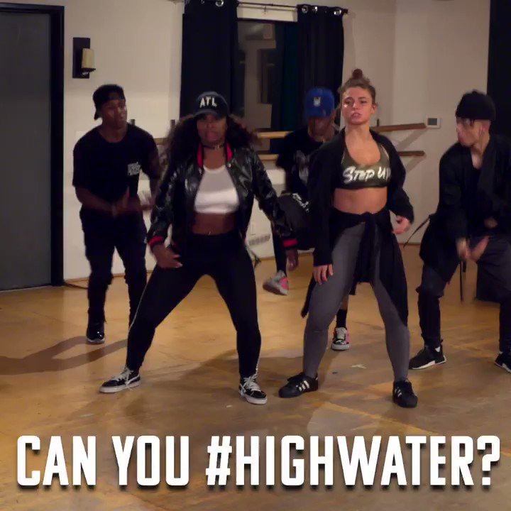 Show me how you #HighWater! Tag your vid...