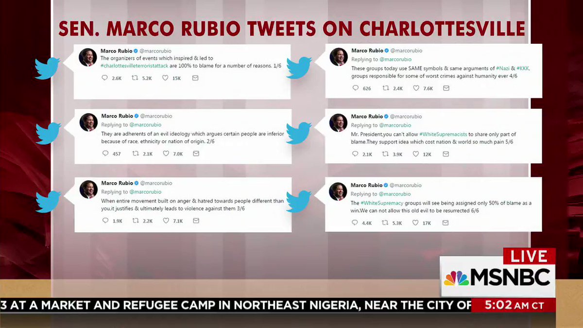 .@JoeNBC shares his thoughts on the president's Charlottesville remark...