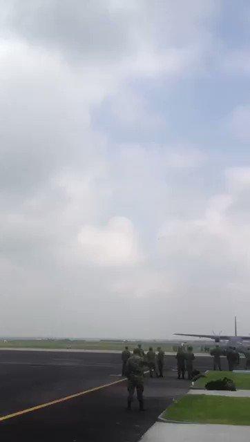 Así un accidente aéreo en #Tecámac, Edomex https://t.co/fiPxhplC2t