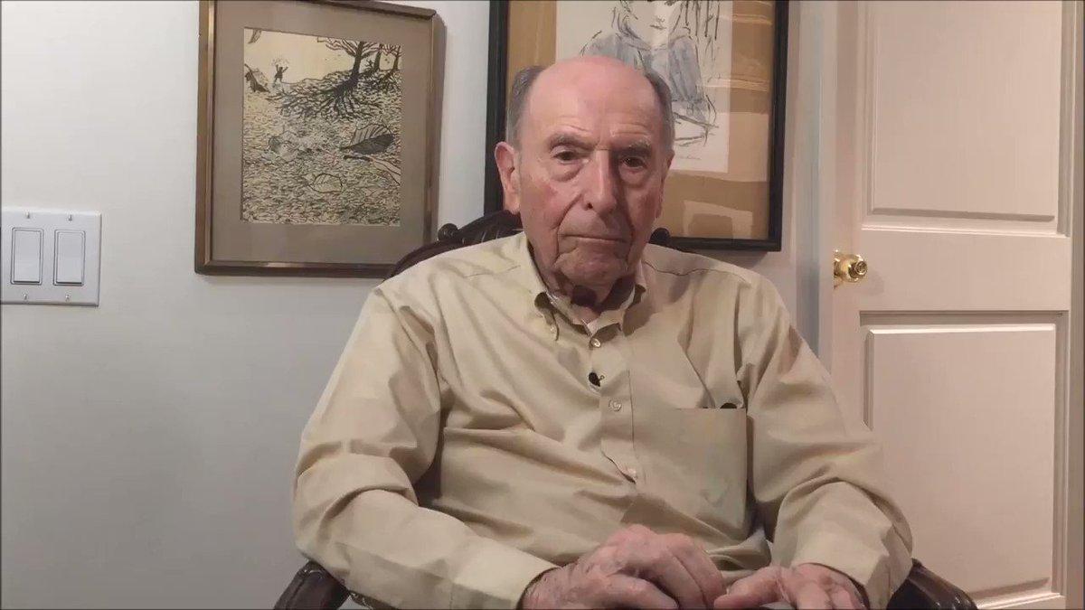 Un pilote de bombardier de la Seconde guerre mondiale à Trump
