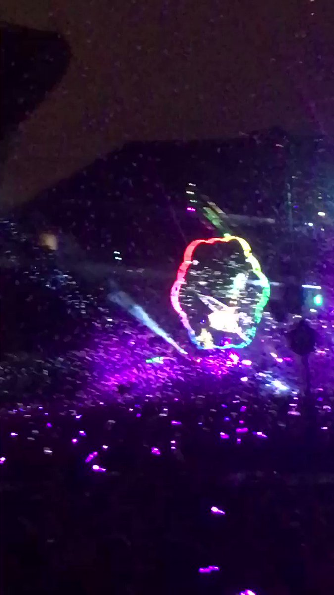 #ColdplayChicago always amazing to see them. This is before the rain.....