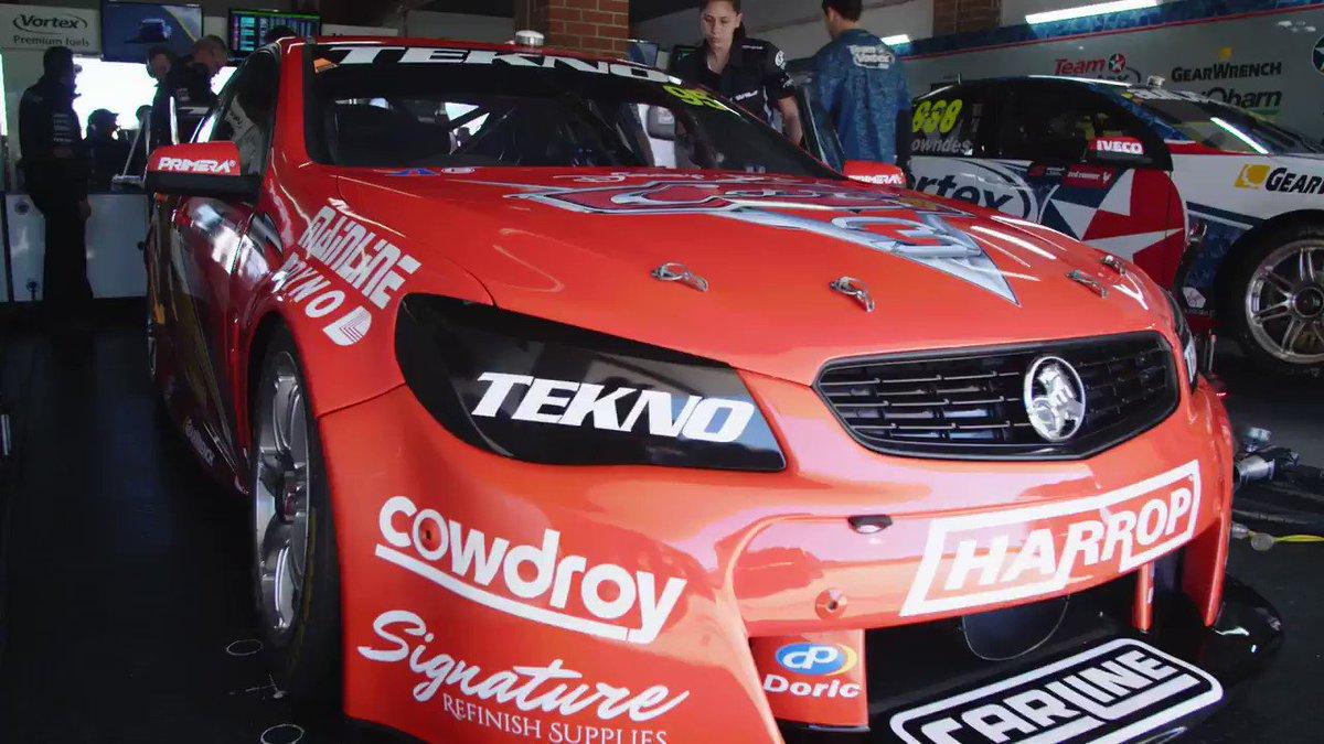 'Speed. I am Speed' 🚗💨💨  Lightning McQueen has hit the track in Sydney...