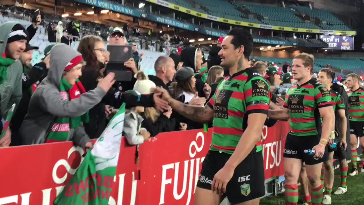 Thanks for your support this year Members!   #GoRabbitohs #NRLSouthsWa...
